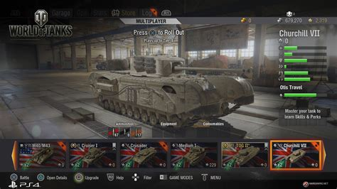 world of tanks announced for ps4 check out the screenshots playstation universe