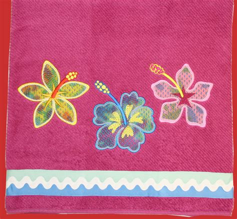 bathroom embroidery designs bathroom embroidery project towel 171 embroidery origami