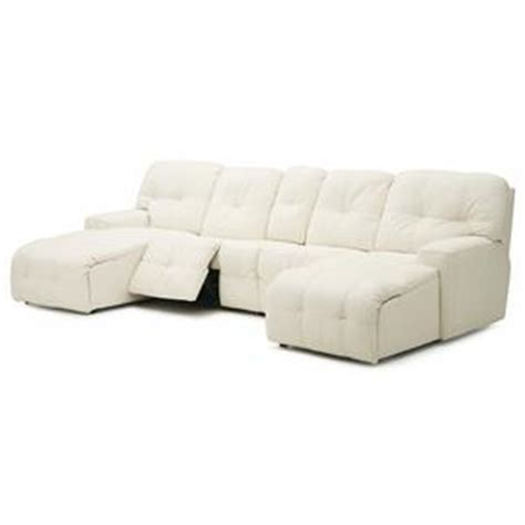 Power Reclining Sectional Sofa With Chaise by Palliser Mystique Transitional Power Reclining Sectional