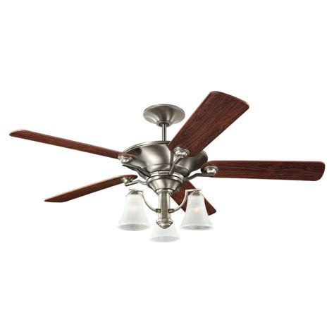 Ceiling Fans Lowes Home Depot by Shop Sea Gull Lighting Somerton 52 In Antique Brushed