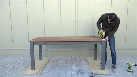 dining table bench cushion homemade modern ep diy outdoor dining table bench cushion