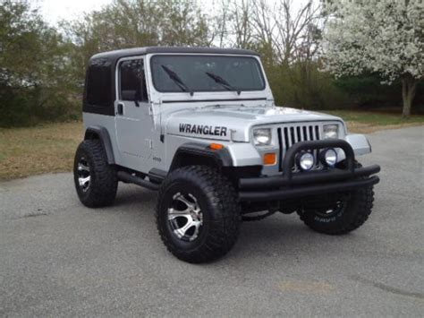1987 jeep yj value 1987 jeep wrangler information and photos momentcar