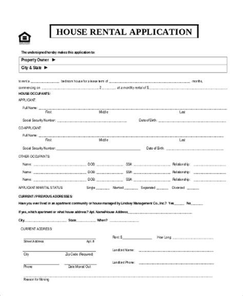 free nebraska rental application form pdf template