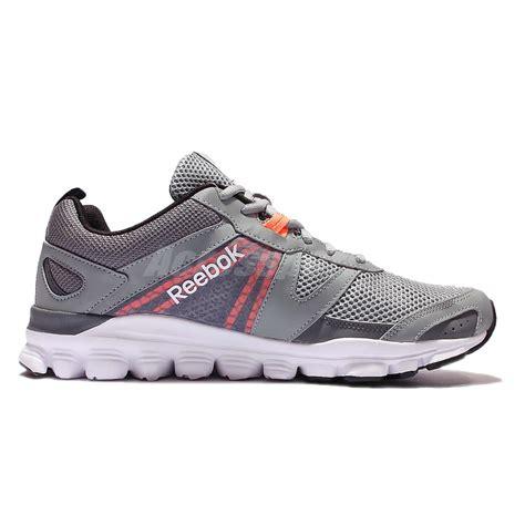 reebok lightweight running shoes reebok hexaffect run le grey white lightweight running