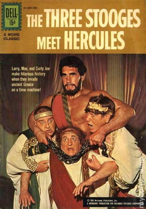 all three stooges books three stooges meet hercules 1962 classics comic books