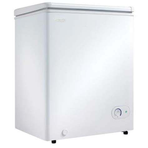 danby 3 8 cu ft chest freezer in white