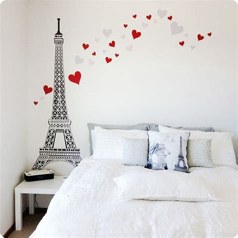 Wallsticker Uk50x70 Wall Sticker Black Eiffel buy removable wall stickers eiffel tower design