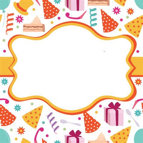 imagenes de feliz cumpleaños amiga en blanco y negro tarjetas para imprimir de invitaci 243 n para cumplea 241 os