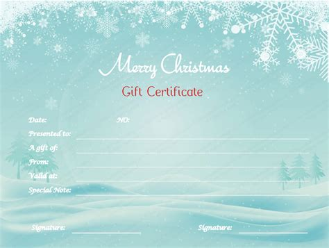 open office gift certificate template n snow gift certificate template