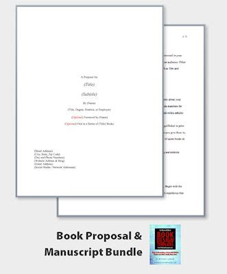 manuscript template proposals templates and book design on