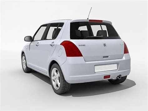 suzuki car models maruti suzuki car 3d model 3d printable cgtrader com