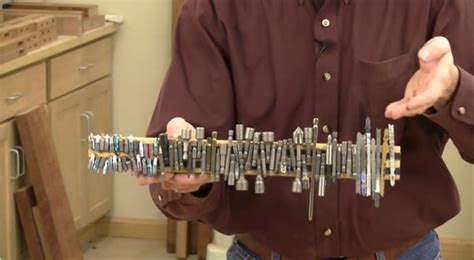 improve shop organization  magnets woodworking