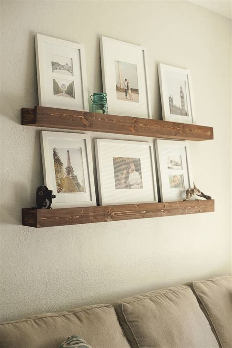 diy barn beam ledges i like the look of these shelves