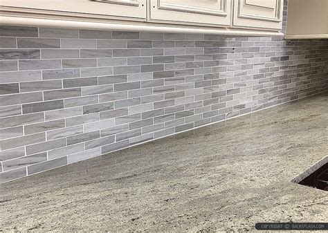 mosaic marble backsplash white modern subway marble mosaic backsplash tile