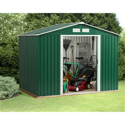 8 X 3 Metal Shed by Shedswarehouse Madrid 8ft X 10ft Value Metal Shed