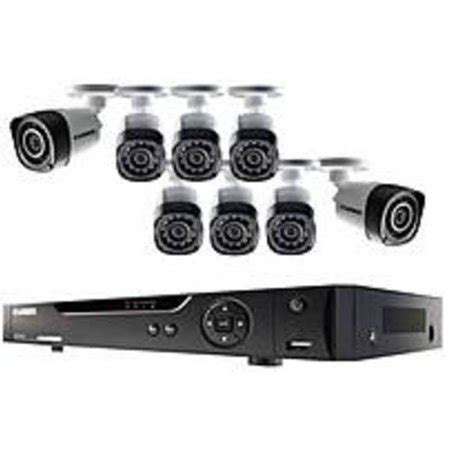 lorex lhd818 8 channel hd dvr security system with 8