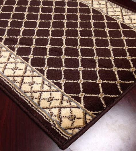 brown carpet runner caspian 8264bw rhombus brown carpet hallway and stair