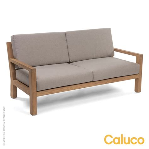 Loveseat Patio Furniture Sixty Loveseat Caluco Patio Furniture Metropolitandecor