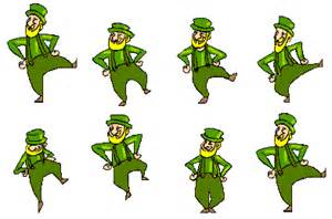 patricks day animated gifs in second