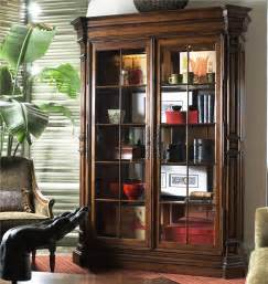 White Curio Cabinet With Glass Doors Excellent Traditional Display Cabinet Ideas Featuring