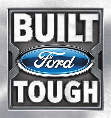 Built Ford Tough Logo ford introduces built ford tough to china ford ranger