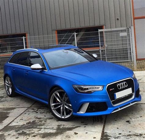 Blue Audi Rs6 by Satin Blue Audi Rs6 Wrapped By Jdcustoms My Car