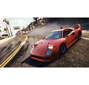 Wallpaper Need For Speed Rivals Ferrari F40 4K 8K