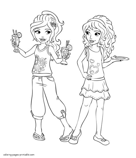 coloring pages of lego friends lego friends mia coloring pages sketch coloring page