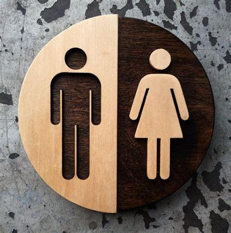 Unisex Bathroom Ideas by Best 25 Unisex Bathroom Sign Ideas On Unisex
