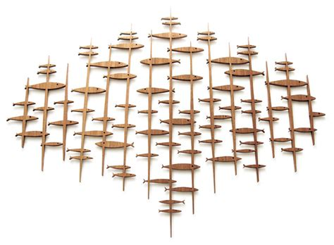 Fish Home Decor Accents by Midcentury Modern Fish Sculpture Midcentury Wall