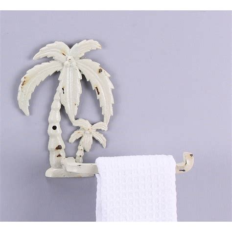 palm tree toilet tissue holder