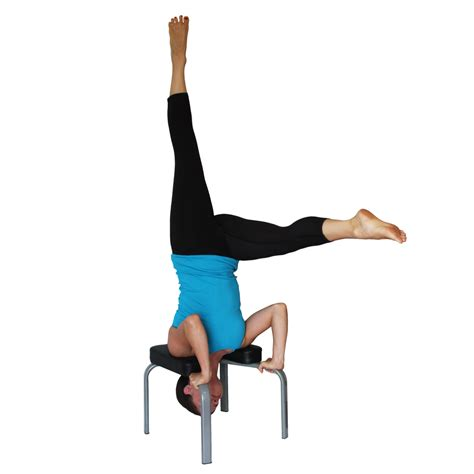 bench yoga yoga headstand bench for neck cervical spine traction