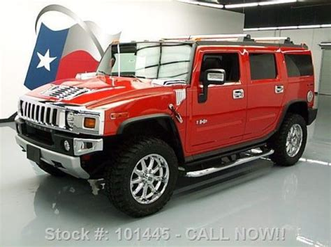 buy car manuals 2008 hummer h2 spare parts catalogs service manual 2008 hummer h2 sunroof replacement purchase used 2008 hummer h2 lux sut 4x4