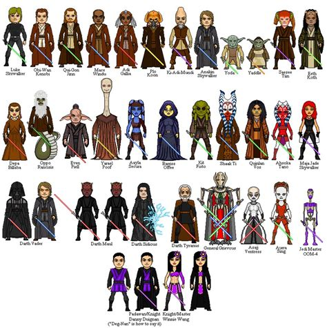 color purple character names lightsaber collection by winter phantom on deviantart