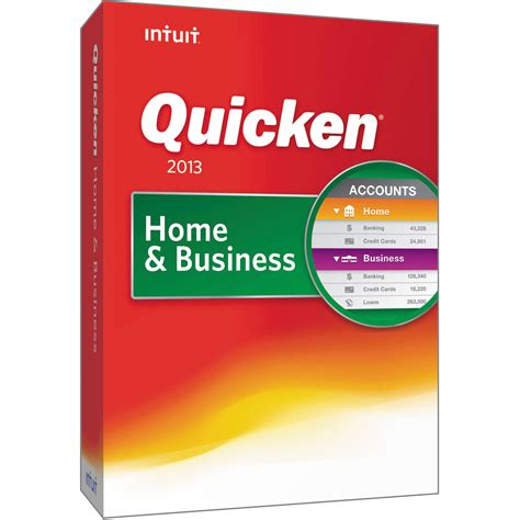 intuit quicken 2013 home business 0419359 b h photo