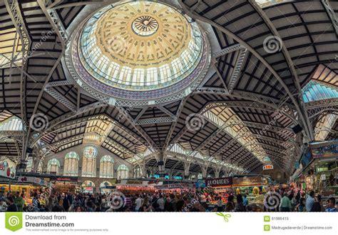mercato interno interno mercato centrale di valencia immagine