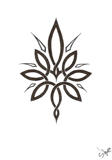 flower tattoo black designs joy studio design gallery