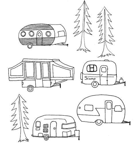 doodle trailer shoregirl s creations vintage cing trailer links