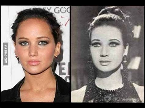 10 most look alike celebrities 10 celebrities and their look alike from the past