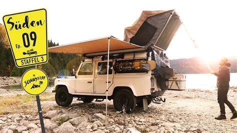 camper ausbau front runner roof tent dachzelt