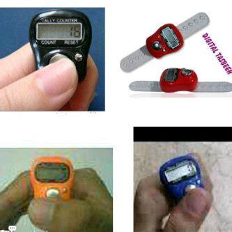 Tasbih Digital Mini Finger Counter Penghitung Untuk Dzikir tasbih digital mini finger counter penghitung digital tally counter penghitung survei barang