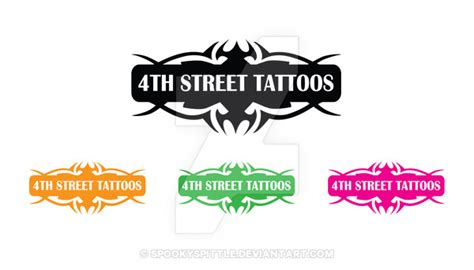 4th street tattoo 4th logo by spookyspittle on deviantart