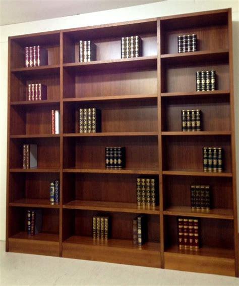 librerias de madera a medida libreria de madera maciza a medida 2 los pinos muebles