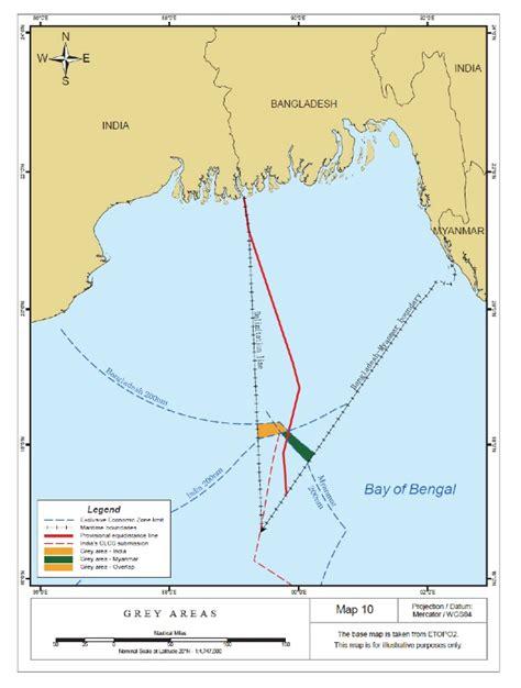 Continental Shelf Of India by Recent Jurisprudence Addressing Maritime Delimitation