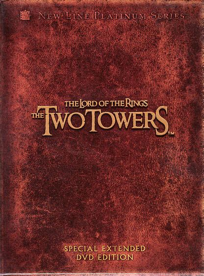 dvd  lord   rings   towers special