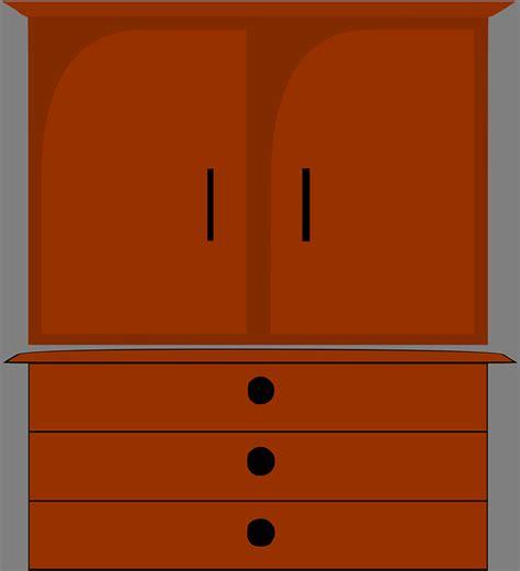 aparador clipart furniture dresser cupboard 183 free vector graphic on pixabay