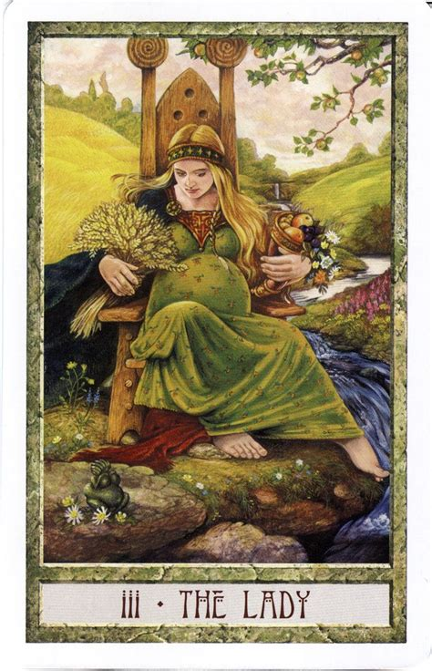 the druid craft tarot the lady the empress druid craft tarot tarot 111 the empress the o jays