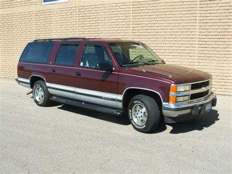 how make cars 1994 chevrolet suburban 1500 transmission control buy used 1994 chevy suburban silverado c1500 350tbi automatic 2wd 145k miles in lancaster ohio