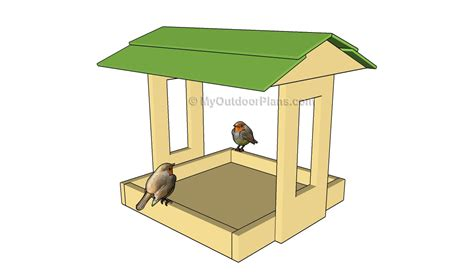 Bird Feeders Designs platform bird feeder plans free outdoor plans diy shed