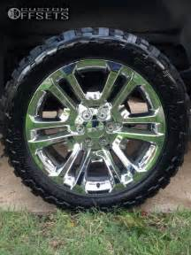 Stock Chevy Truck Wheels For Sale Wheel Offset 2014 Chevrolet Silverado 1500 Aggressive 1